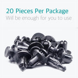 20Pcs Bumper Fender Retainer Clips Fasteners for Subaru 90914-0007 - Lantee Online Store