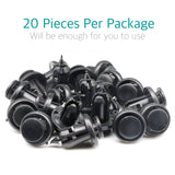 20 Pcs Bumper Retainer Clips w/ Metal Insert for Honda 91506-S9A-003