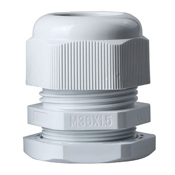 M36x1.5 Cable Gland, White - Lantee Online Store