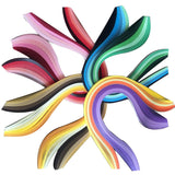 Paper Quilling Art Strips Set Pack of 8 (8 Series Colors) - Lantee Online Store