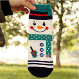 3D Cartoon Snowman Socks Women Cotton Socks Floor - Lantee Online Store