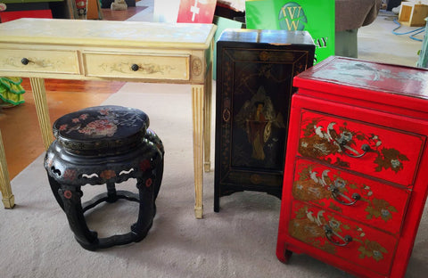 painted furniture restoration and refinishing