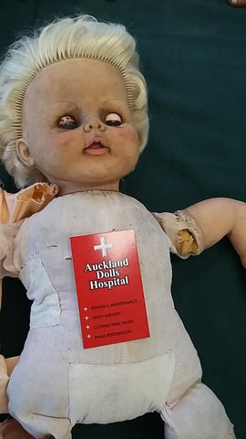 cuddles doll before