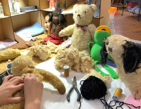 teddy bear and soft toy restoration