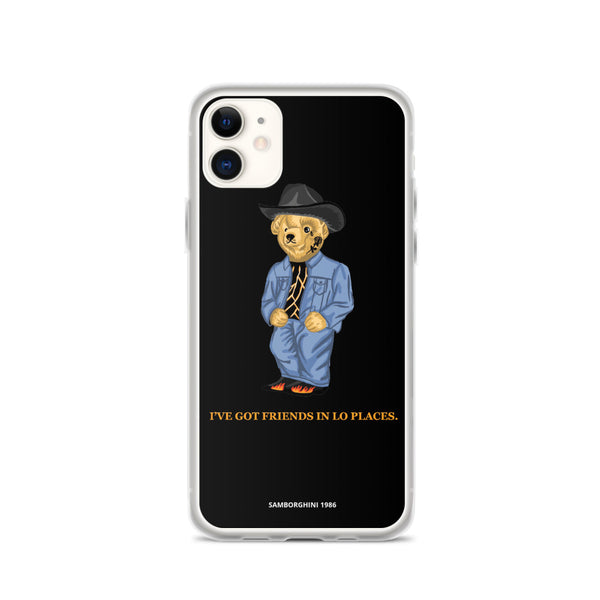Friends in lo places iphone case