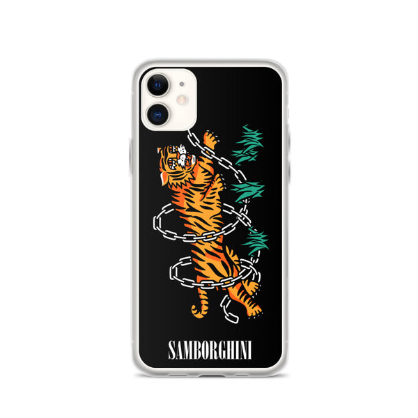 Tiger Chains iPhone Case