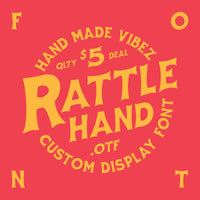 Rattle Hand Font