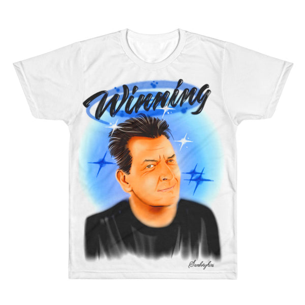 charlie sheen, samborghini, airbrush art, graffiti, streat wear, cocaine, drugs, fashion