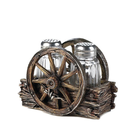 Wagon Wheel Shaker Set
