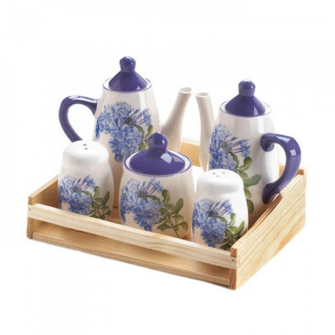 Mini Dolomite Tea Set