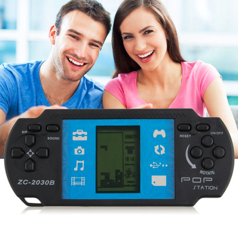 "2.7"" Inch Handheld Game Player Classic Video Tetris Game Console For PSP Gaming Portable Video Game Retro Child Kid Toy Birthday"