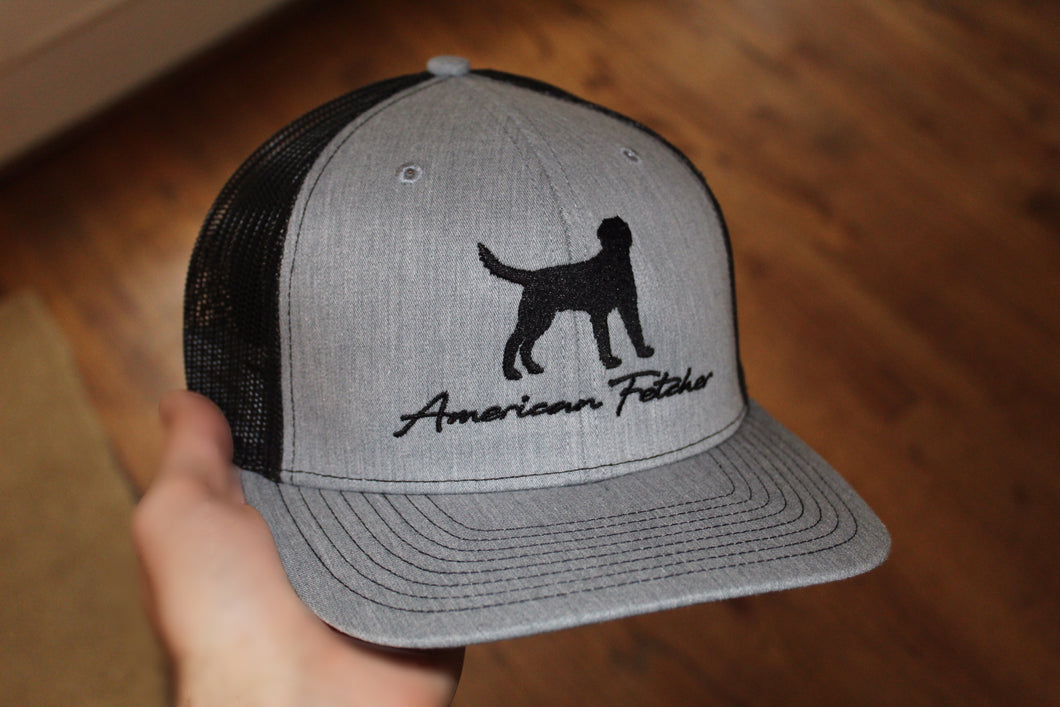 Heather Grey/Black Retriever (Ships May 10th)