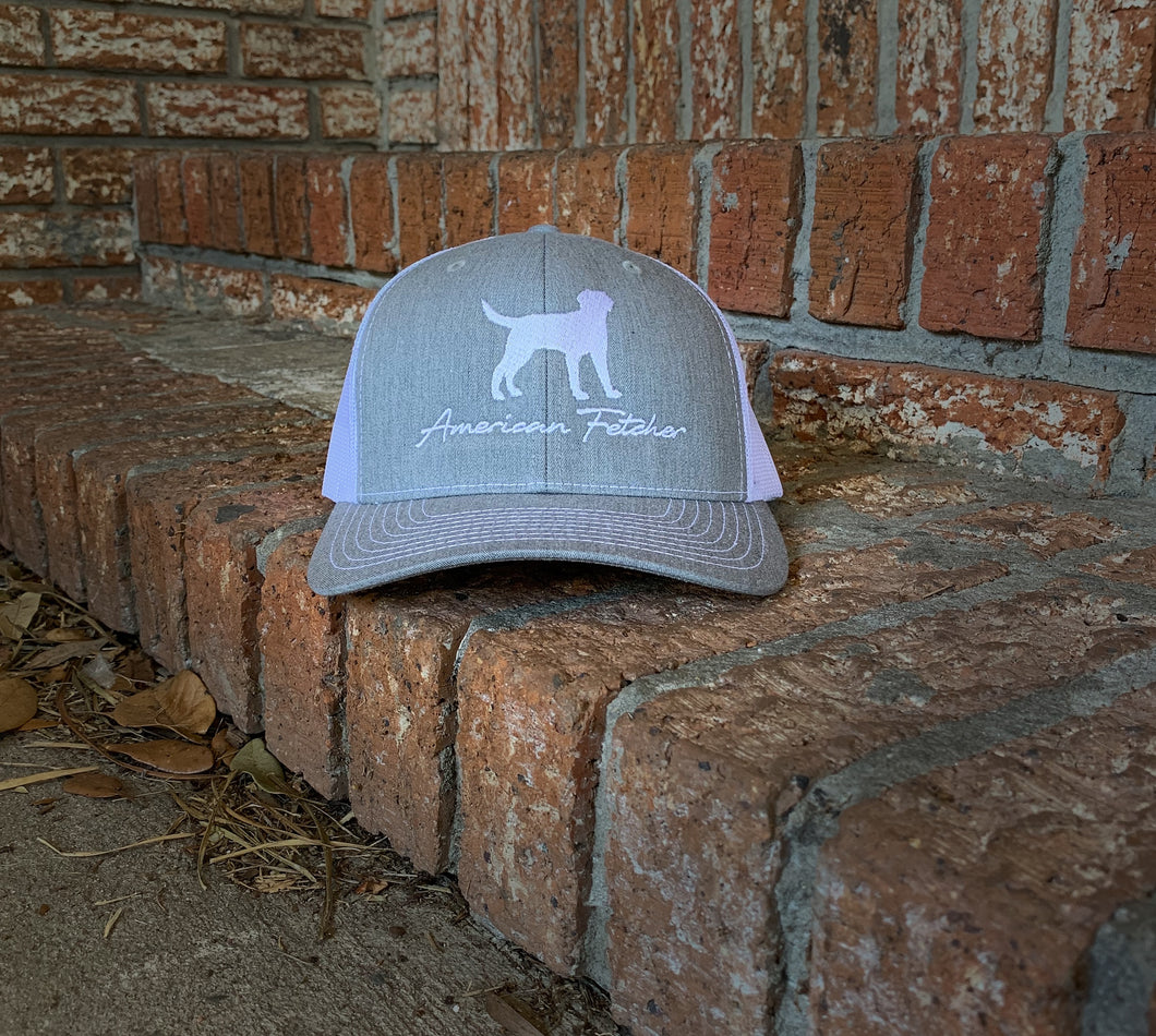 Heather Grey/White Retriever (Will Ship Jan 20th)