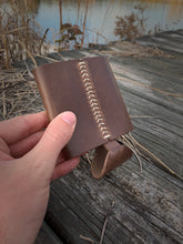 Hand Crafted Leather Coozie