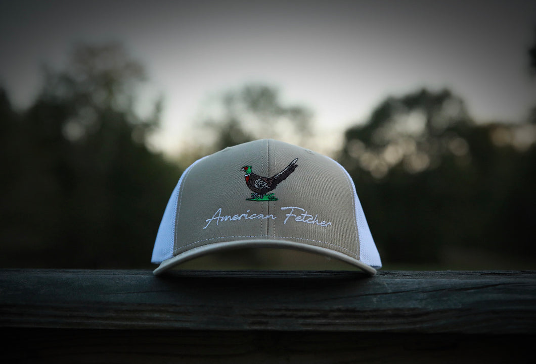 Pheasant - Khaki/White (Will Ship Jan 4th)