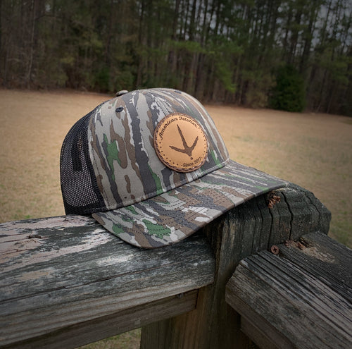 Realtree Turkey Track Leather Patch