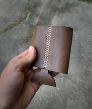 Hand Crafted Leather Coozie - Turkey