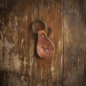 Leather Key Chain — Simple, Durable