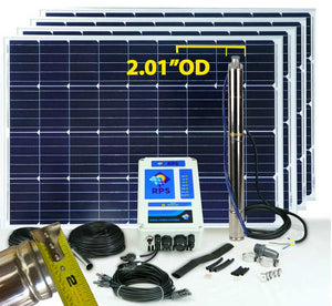 RPS 400N - 2 Inch Solar Well Pump Kit