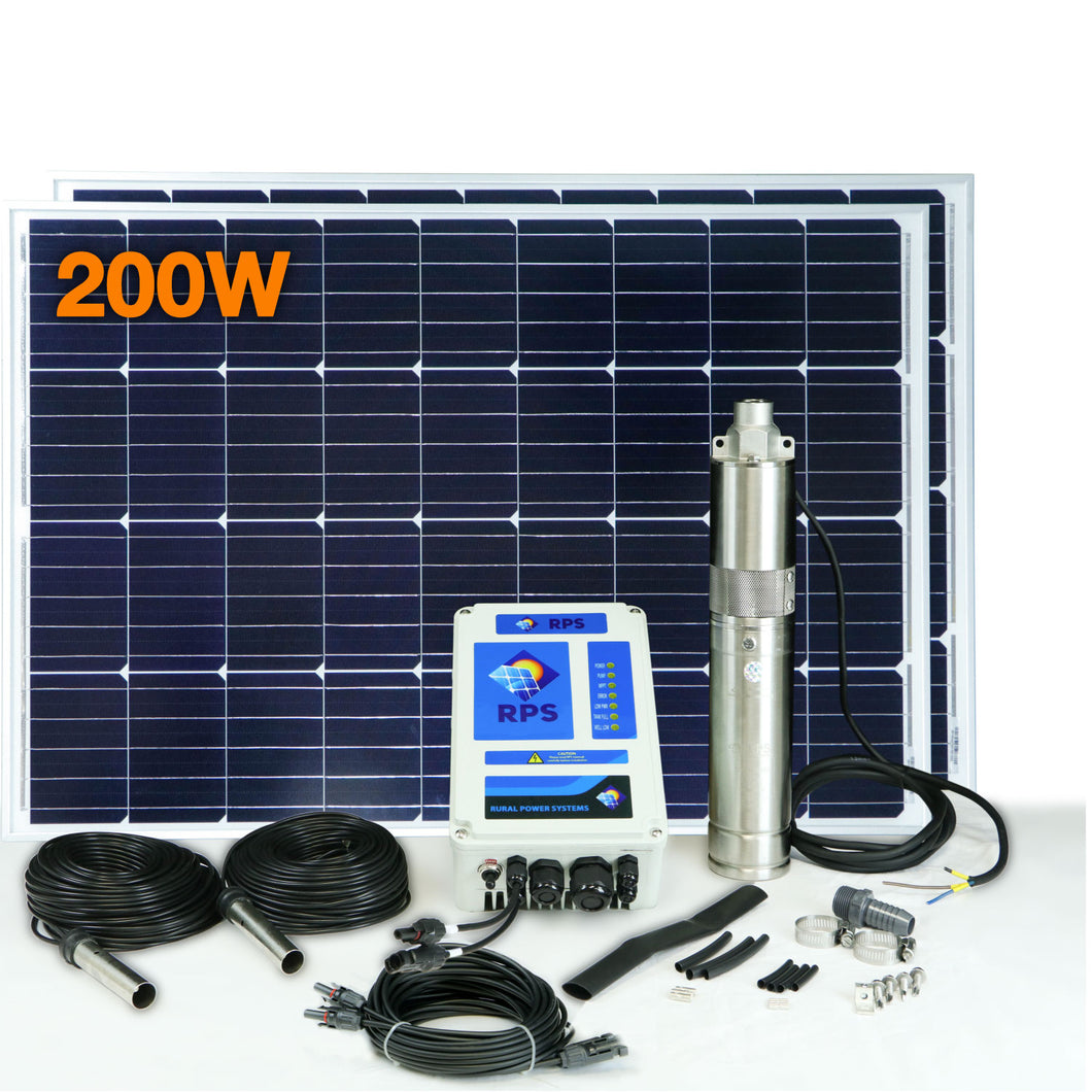 RPS 200 Solar Well Pump Kit