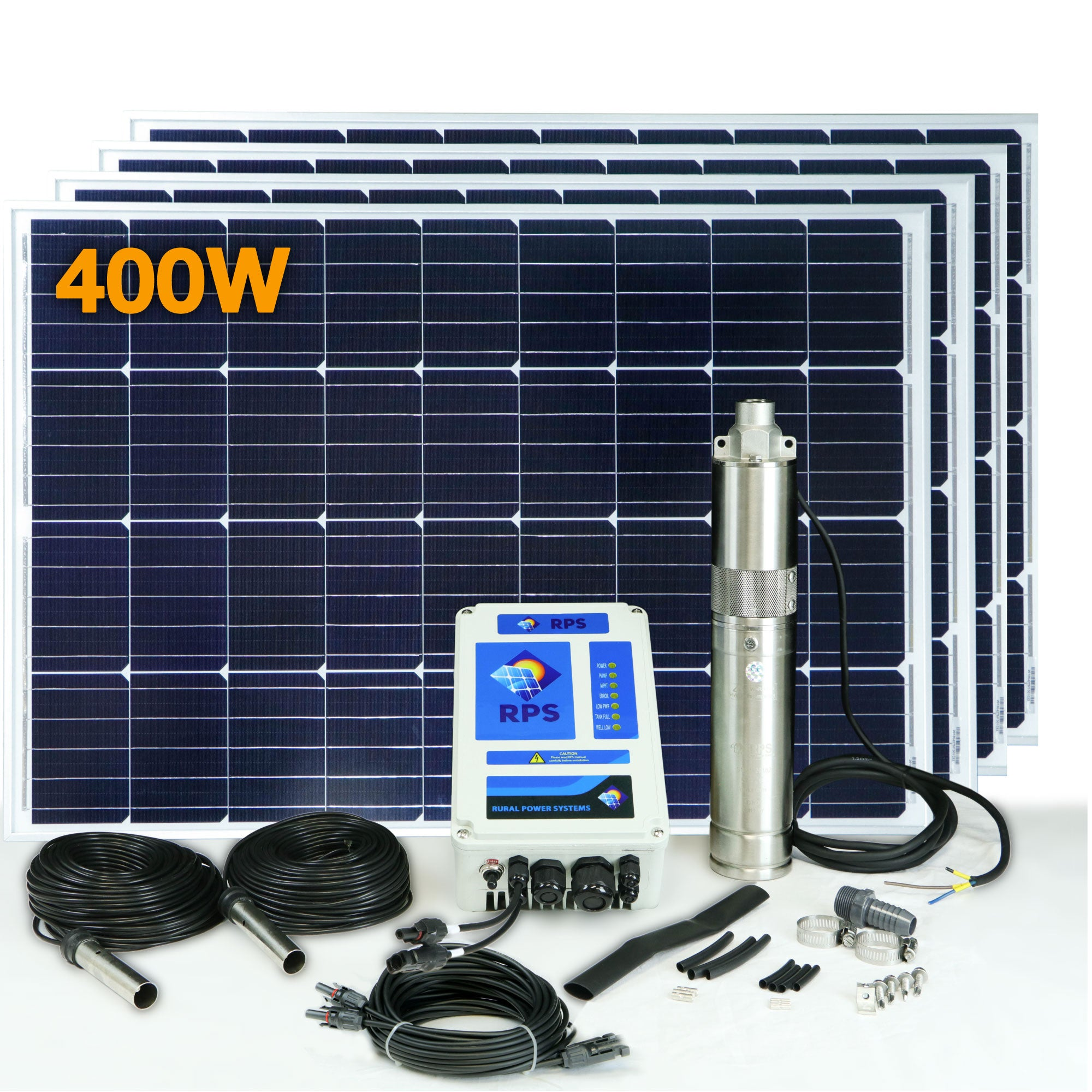 Rps 400 Solar Well Pump Kit Pumps Wiring House For Power