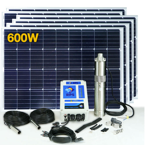 RPS 600 Solar Well Pump Kit
