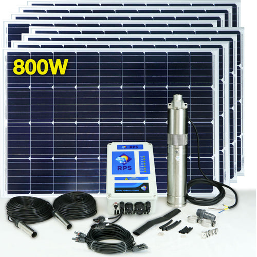 RPS 800 Solar Well Pump Kit