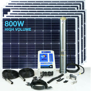 RPS 800V+ Solar Well Pump Kit