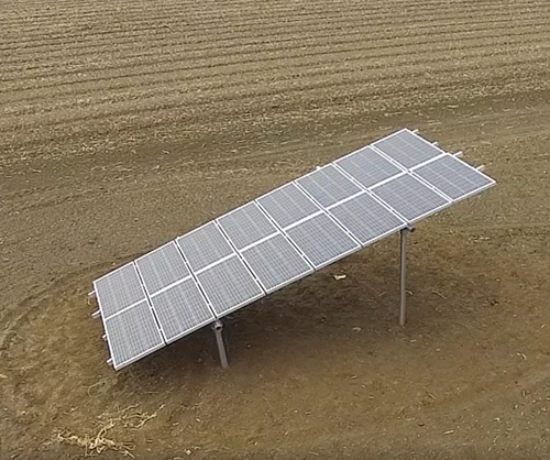 Scalable Solar Panel Ground Mounting