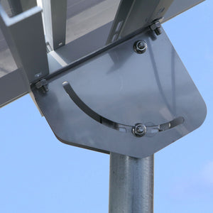 RPS Top-of-Pole Solar Panel Mount Kits