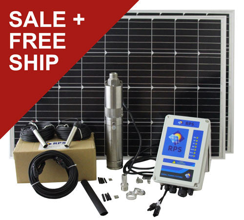 RPS Solar Well Pump System - Sized by RPS Pump Specialist