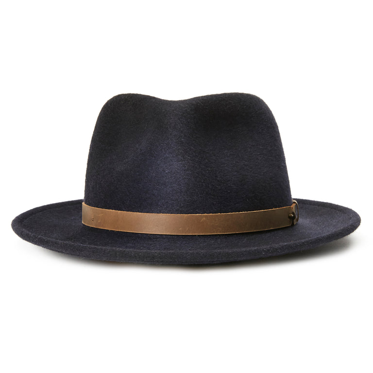 46ac149d10f4d Goorin Bros. yes doctor wool a crown fedora Black front view