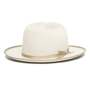 Goorin Bros. happy trails wool fedora Creme left side view