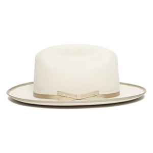 Goorin Bros. happy trails wool fedora Creme side view