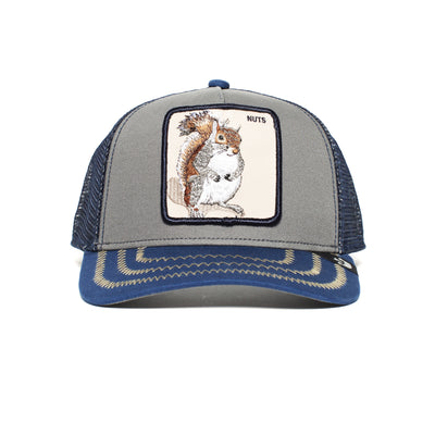 Goorin Bros Animal Farm Save Us Dolphin Snapback Trucker Hat Navy One Size