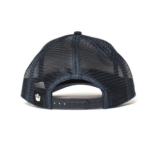 Goorin Bros. wolf baseball cap Navy back view