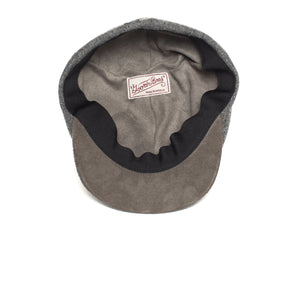 Goorin Bros. ronald amos wool blend 6 panel ivy flatcap Charcoal under view