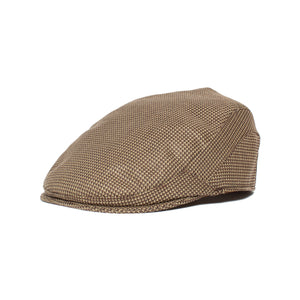 Goorin Bros. chicory joe polyester ivy flatcap Black left side view