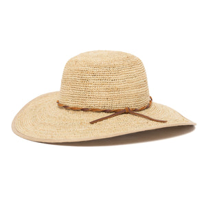 Goorin Bros. desert sun straw floppy hat Natural left side view