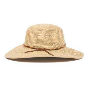 Goorin Bros. desert sun straw floppy hat Natural side view