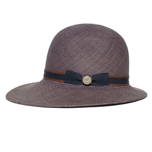 Goorin Bros. mimi cloche hat Navy side view
