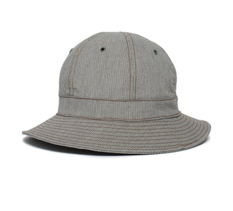 Goorin Bros. blaine cotton bucket Grey left side view