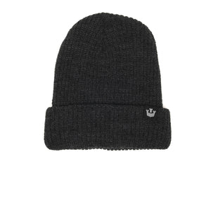 Goorin Bros. fresh tracks acrylic beanie Charcoal front view