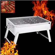 Portable Stainless Steel Charcoal Outdoor Grill - http://www.next-generation.store