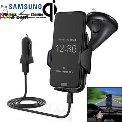 Wireless Charger Charging Car Mount Holder for Samsung Galaxy S7 Note 5 - Next-Genration.Store