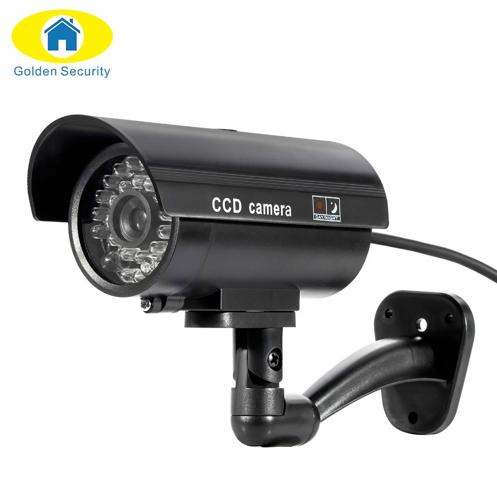Waterproof Outdoor Indoor Fake Camera Security With Night CAM LED Light  Color - Next-Genration.Store