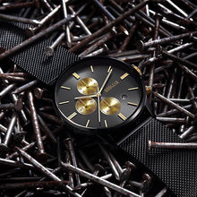 Chronograph Men Quartz Watch Stainless Steel Mesh Band Gold Watches Slim Men Watches... - http://www.next-generation.store