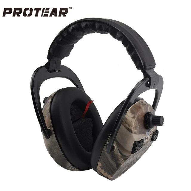 Electronic Ear Protection Shooting Hunting Ear Muff Print Tactical Ear Muffs - http://www.next-generation.store