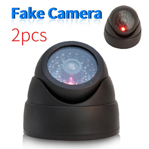 Surveillance Security Fake Camera Indoor Home Outdoor Waterproof Dome Dummy Cameras 2 Pcs/Set - http://www.next-generation.store
