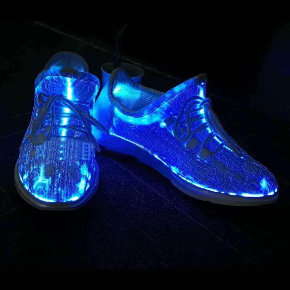 LED Luminous Running Shoes Unisex Sneakers Lace Shoes Colorful Glowing Shoes for Party Dancing Hip-hop Cycling Running - http://www.next-generation.store